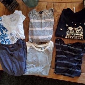 SUPER Bundle 6 T-shirts Tops